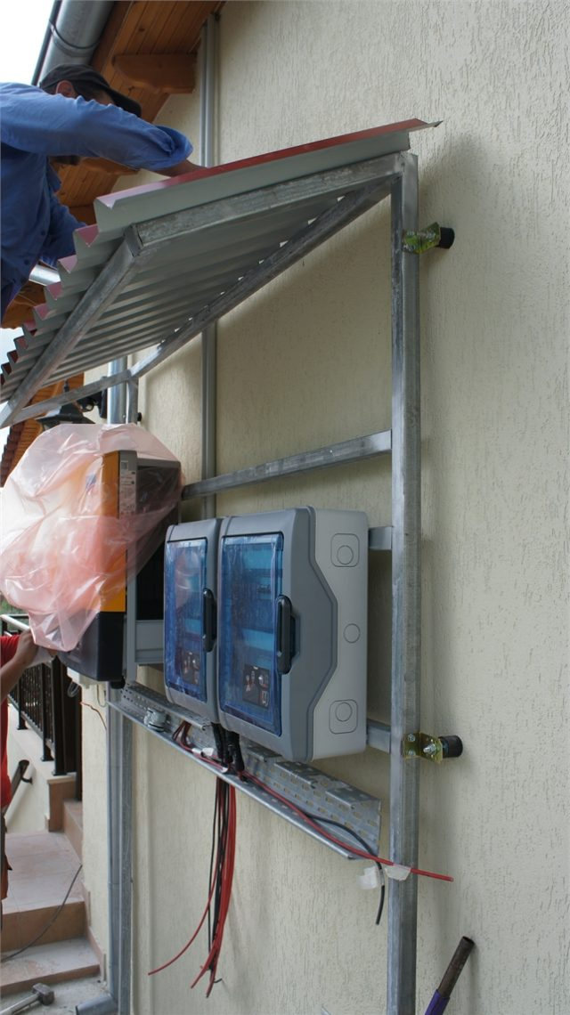 Κάλυψη - προστασία inverter & ηλεκτρολογικών πινάκων