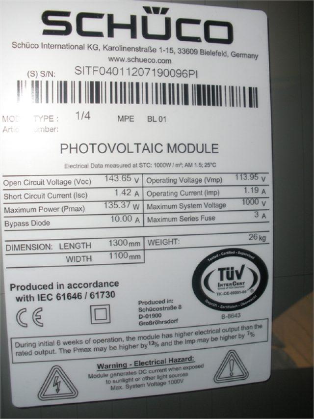 Φωτοβολταϊκό πλαίσιο